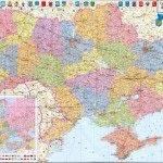 Фотообои Карта Украины 07_0031