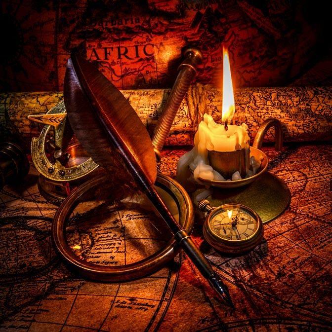 Фотошпалери Старовинні карти 0695521