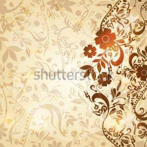 Винтаж цветы -110543993