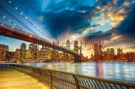 Фотошпалери Нью-Йорк - 152077328