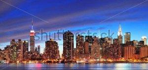 Ночной город -113455597