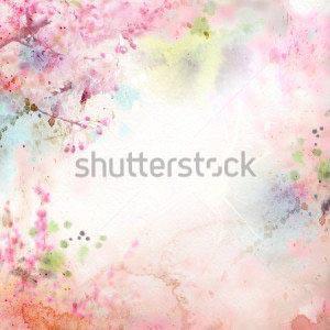 Фон цветы -128179493
