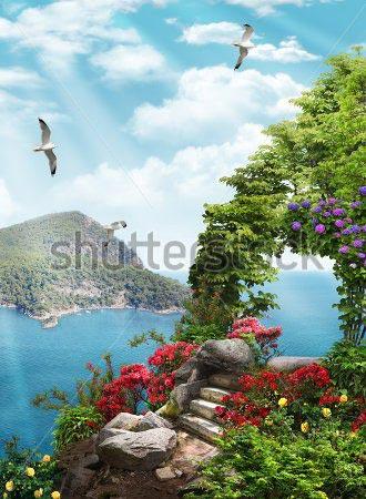 Фотошпалери Море - 303425699