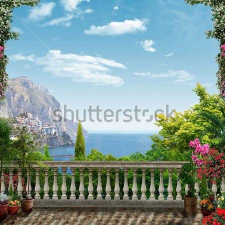 Фотошпалери Вид з балкону - 304179281