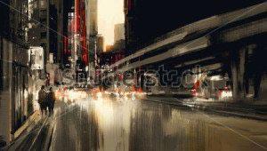 Ночной город -285133001