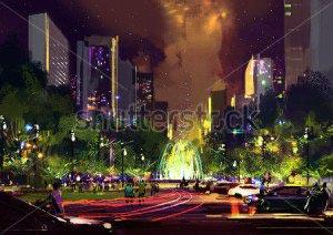 Ночной город -234308773