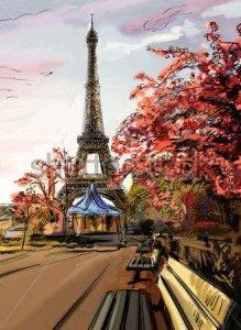 Париж -208126648
