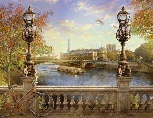 Париж -235456