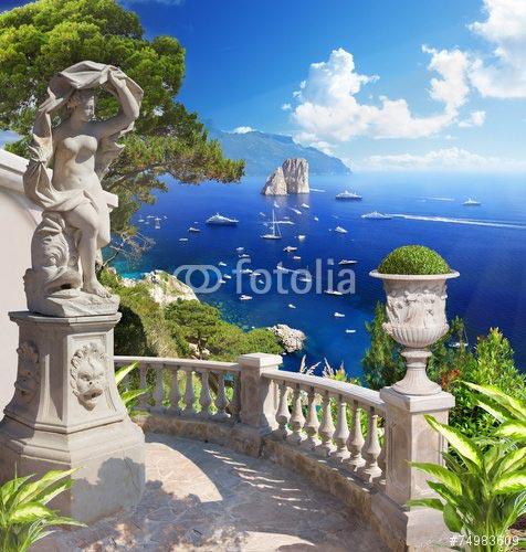 Фотошпалери Місто біля моря - 74983609