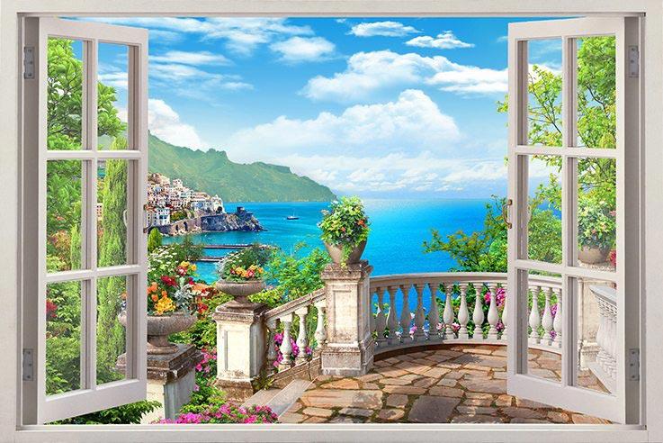 Фотошпалери Вид з вікна