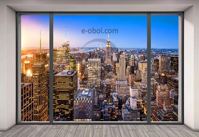 Фотообои Вид из окна
