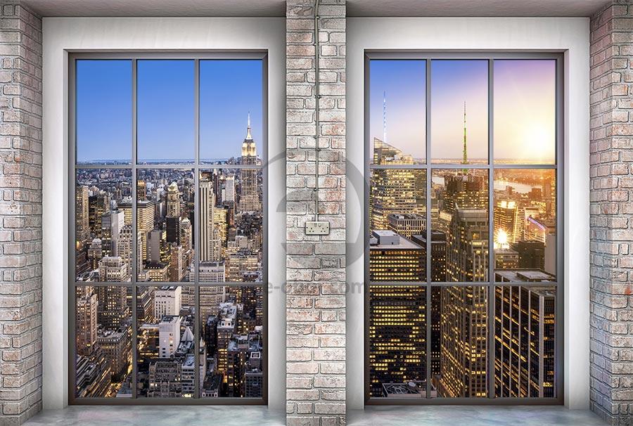 Фотообои Вид на Манхэттен