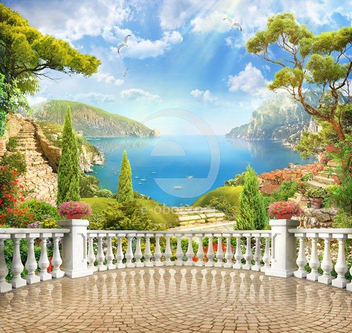 Фотообои Прекрасный вид с балкона
