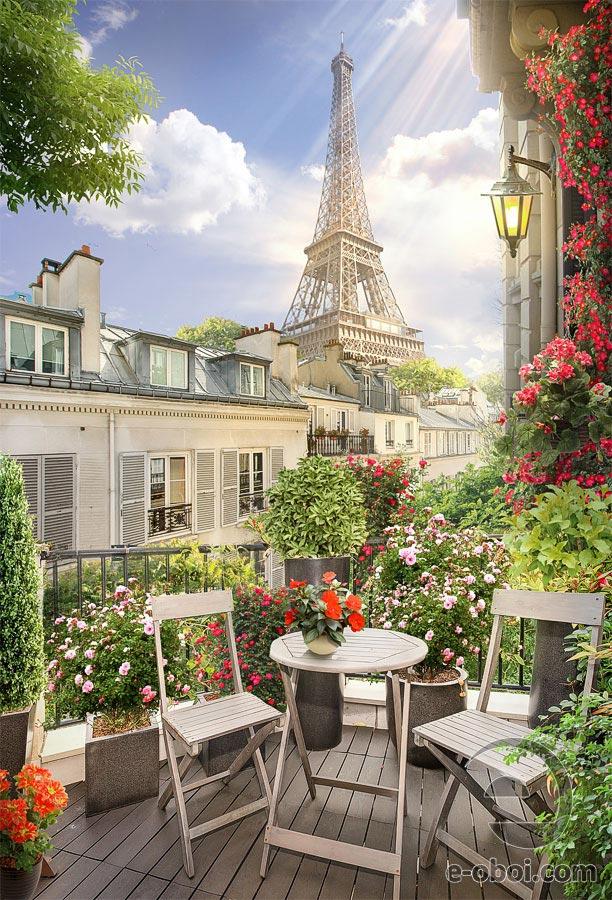 Фотошпалери Ранок в Парижі