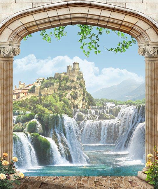 Фотообои Водопад - 439205035