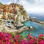 фотообои город у моря