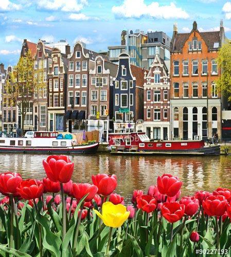 Фотошпалери Амстердам - 90227193