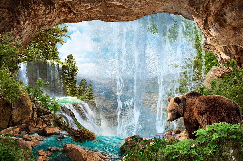 Фотообои Водопад -1-138