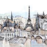 Фотообои Париж 52241742