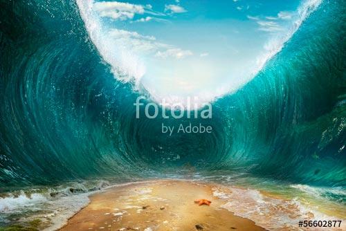Фотообои Волна -56602877