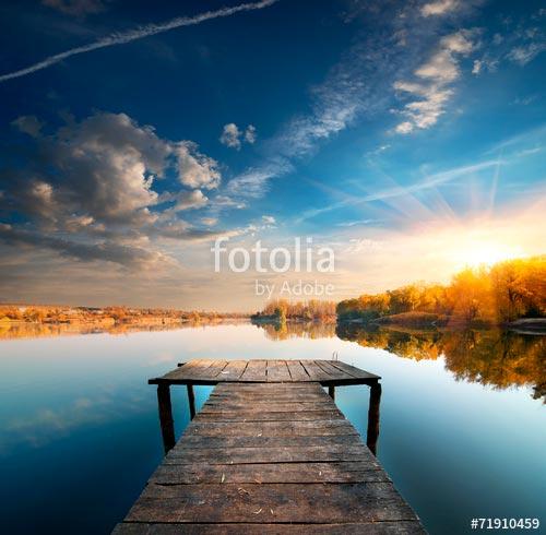 Фотообои Пристань -71910459