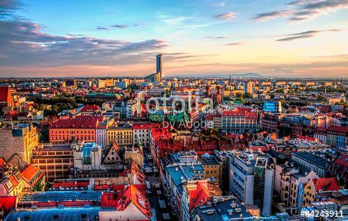 Фотошпалери Вид на місто
