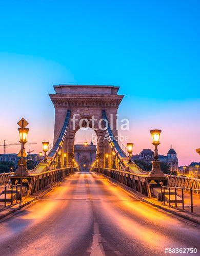 Фотошпалери Міст в Будапешті