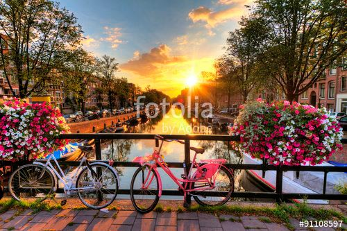 Фотообои Амстердам