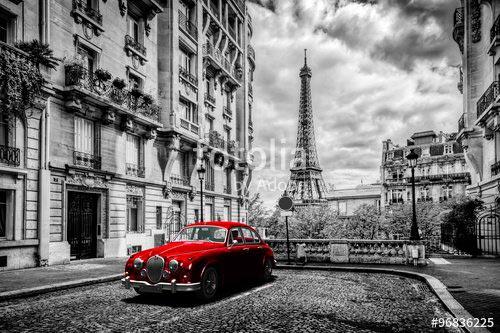 Фотошпалери Вуличка Парижа