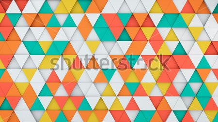 Фотообои 3д Треугольник -425217721