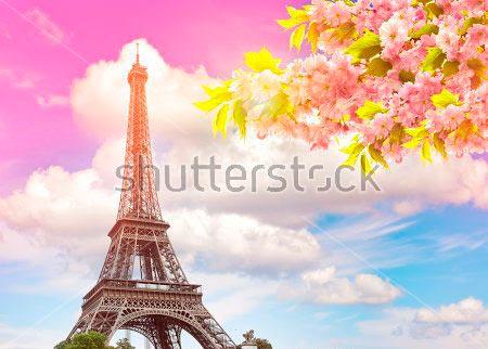 Фотошпалери Ейфелева вежа
