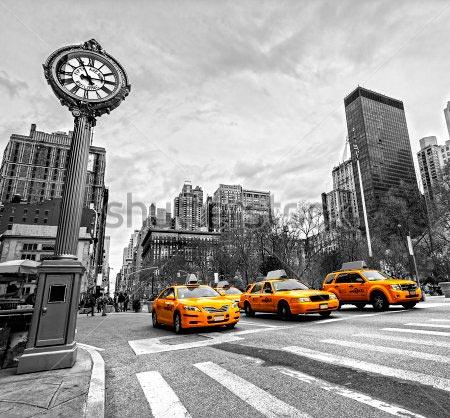 Фотообои Такси Нью Йорка