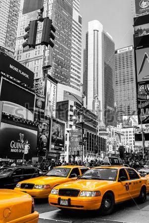 Фотошпалери Таксі Нью Йорка