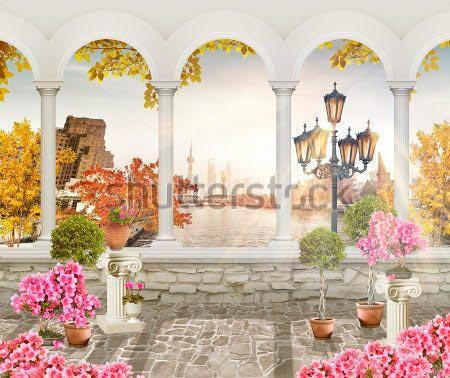 Фотообои Вид с балкона