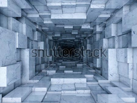 Фотообои 3д туннель -231284845