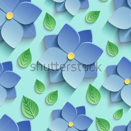 Фотообои 3д цветы -302453720