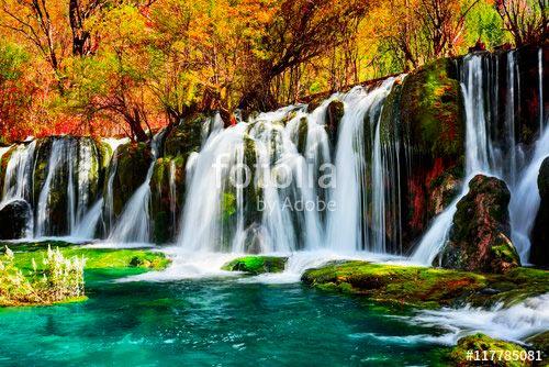 Фотошпалери Водоспади 117785081