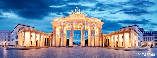Фотообои Ночной Берлин