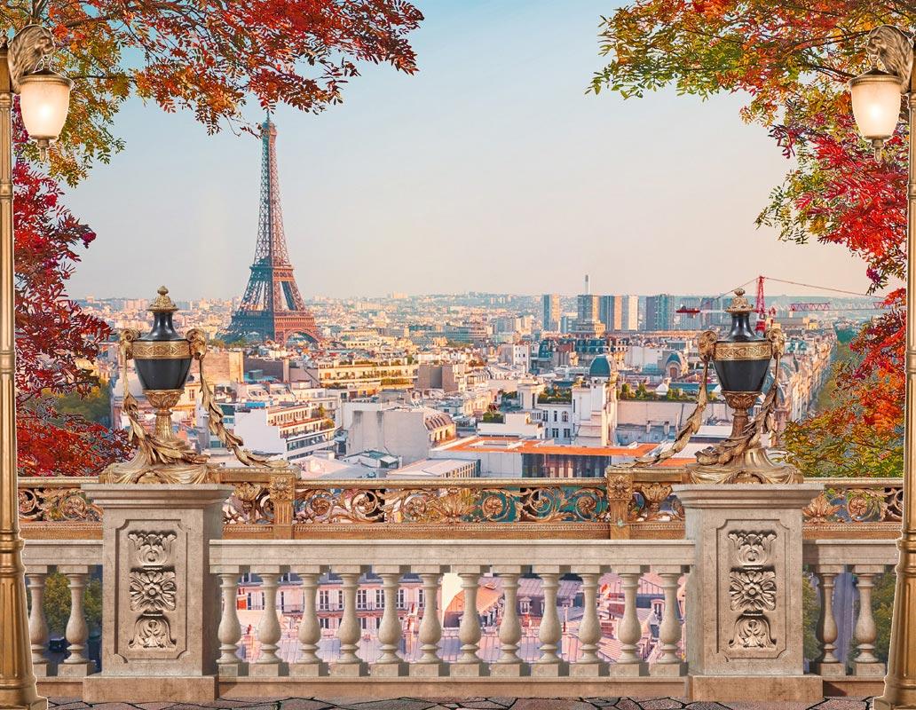 Фотообои Фреска Париж