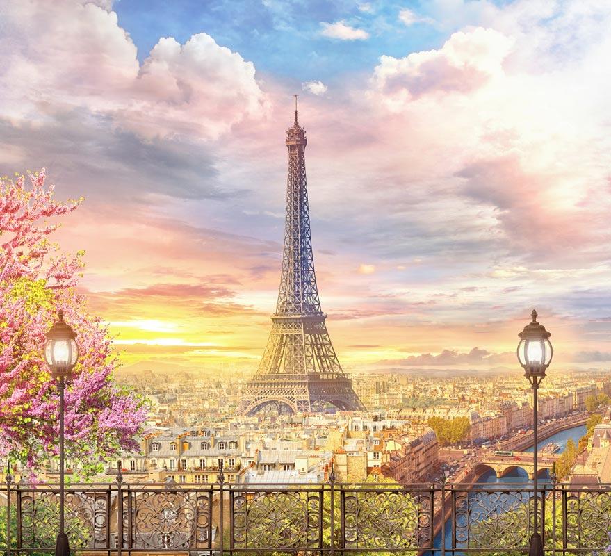 Фотообои Париж -515495650