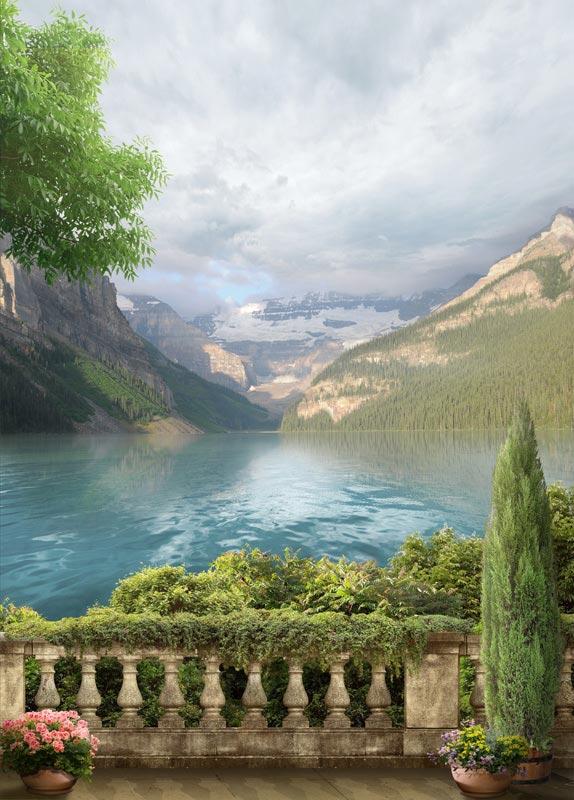 Фотообои Вид с балкона -522029896