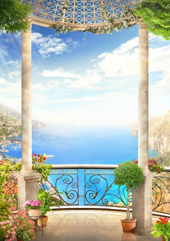 ФотообоиВид с балкона 527915200