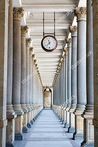 Фотообои 3д колонны -108730451