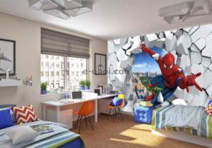 Фотообои В Детскую человек паук