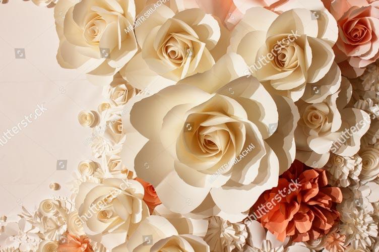 Фотообои 3д цветы 124260202