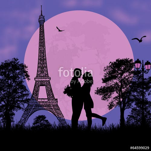 Фотошпалери Париж 64599029