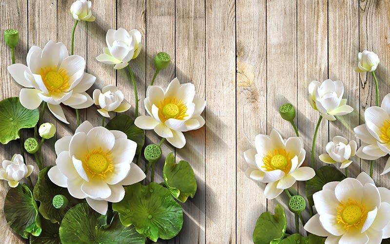 Фотообои Цветы 79435835891