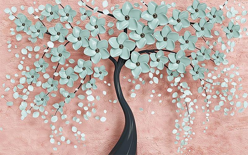 отошпалери 3д дерево 1740045600