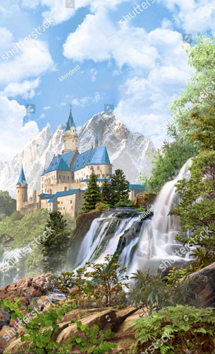 Фотообои Замок 452499391