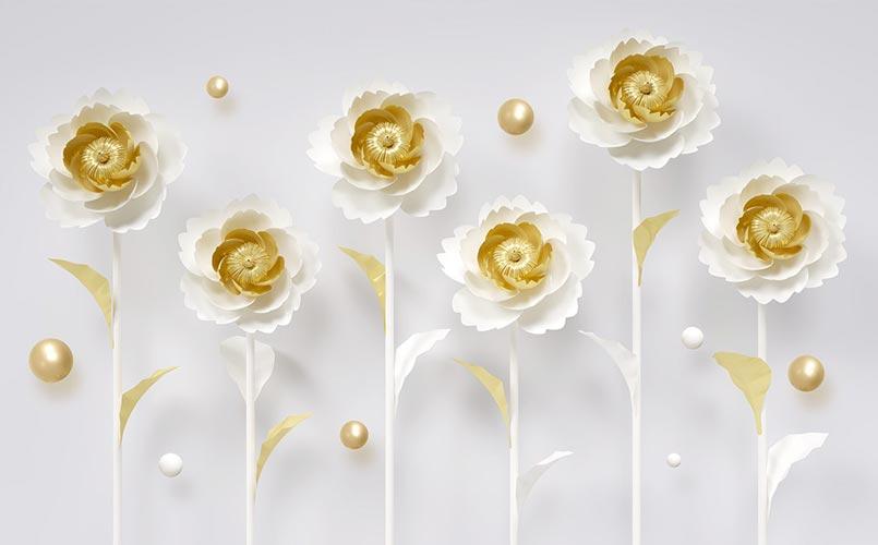 Фотообои 3д цветы 5932368447